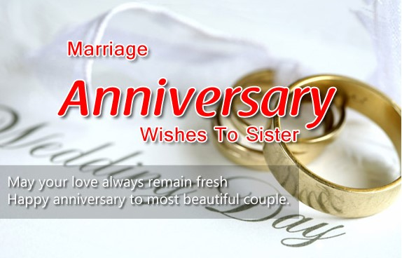 Friend Sister Marriage Quotes Top Anniversary Wishes To Brother And In Law