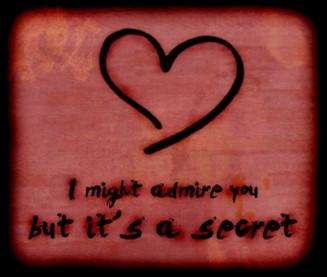Poems secret crush Crush Poems,