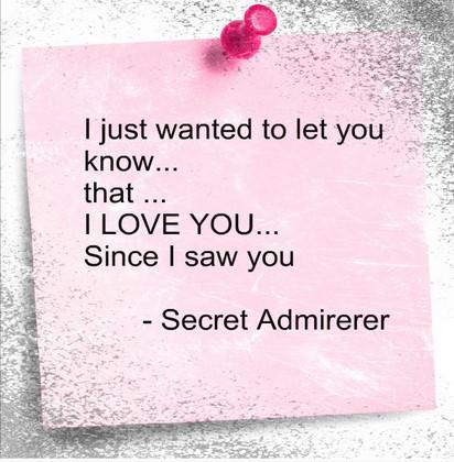 Top 10+ Secret Admirer Poems For Her