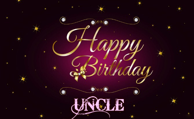 Famous Birthday Wishes For Uncle - FrankSMS