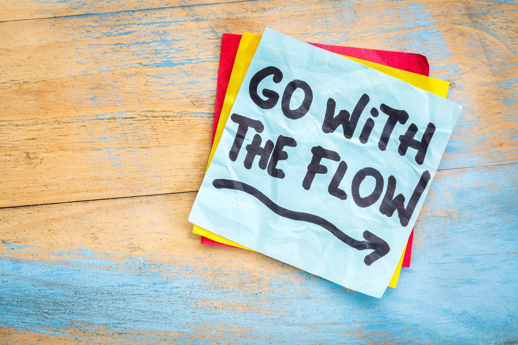 going with the flow quotes
